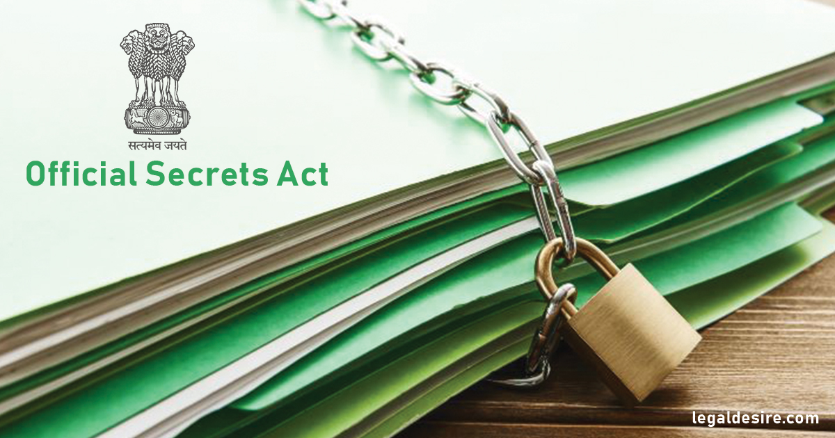 Should The Official Secrets Act Be Repealed Now?